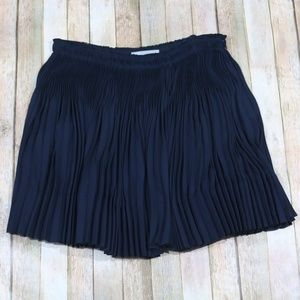 Vince Pleated Mini Skirt Holiday NYE Party